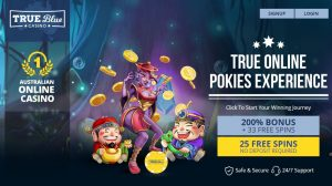 True Blue casino Australia