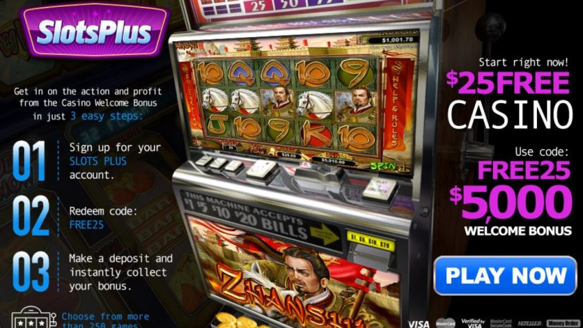 Five reasons to try Slots Plus casino